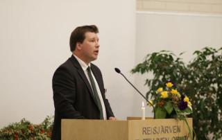 Reisjärven opiston rehtori Valtteri Laitila